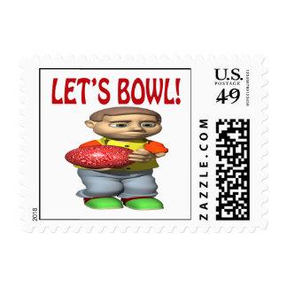 Lets Bowl Postage