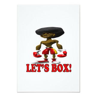Lets Box Card