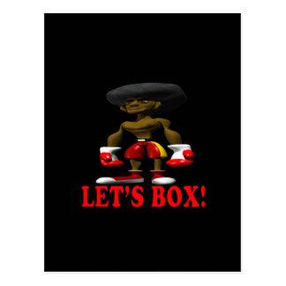 Lets Box Postcard