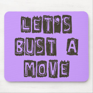 Let's Bust A Move Mouse Pad