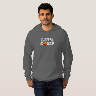 Let's Camp Campfire Pullover Hoodie