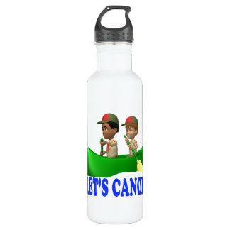 Lets Canoe 24oz Water Bottle