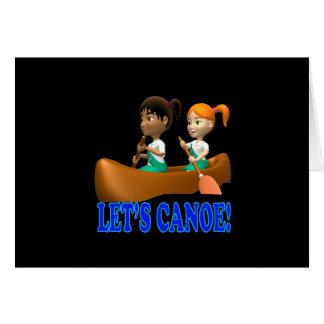 Lets Canoe 2 Card