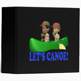 Lets Canoe 3 Ring Binder