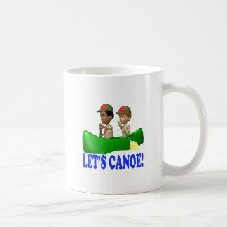 Lets Canoe Classic White Coffee Mug