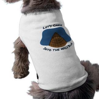 Let's Canoe Dog T Shirt