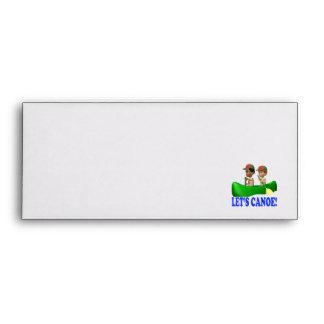 Lets Canoe Envelopes