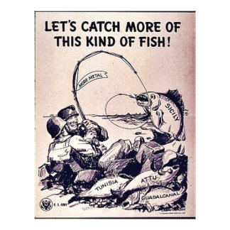 Let's Catch More Of This Kind Of Fish Full Color Flyer