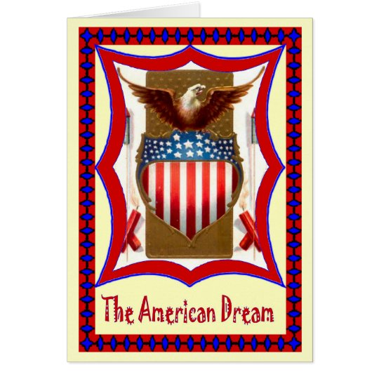 Let's celebrate - American badge Card
