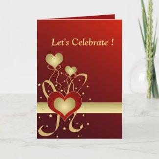 Let's Celebrate ! - Card card