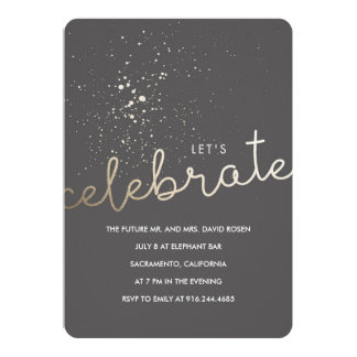 Let's Celebrate! Card