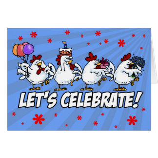 Let's Celebrate (End of Chemotherapy) Greeting Card