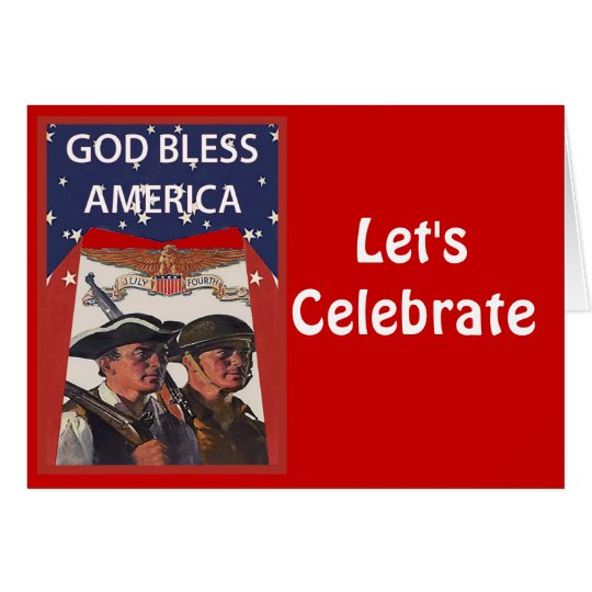 Let's celebrate, Fighting for freedom Card