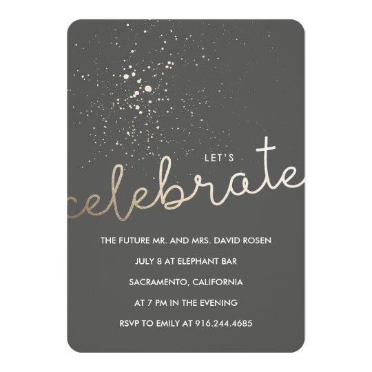 let u0026 39 s celebrate  invitation