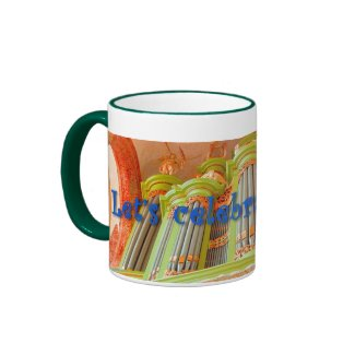 Let's celebrate organs -  green mug