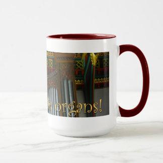 Let's celebrate organs mug - Leicester Cathedral