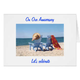"""LET'S CELEBRATE """"US"""" -  ON """"OUR"""" ANNIVERARY CARD"""