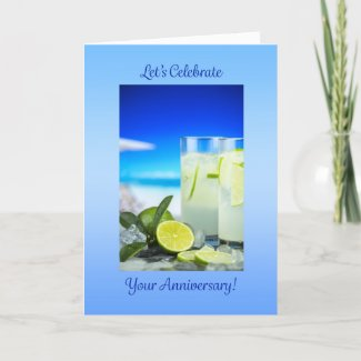 Let's Celebrate Your Anniversary Card