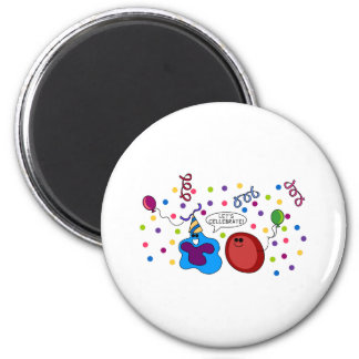 Let's Cellebrate 2 Inch Round Magnet