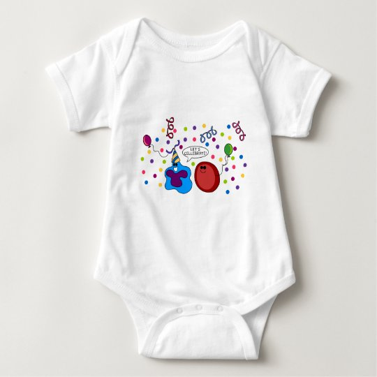 Let's Cellebrate Baby Bodysuit