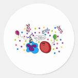 Let's Cellebrate Classic Round Sticker