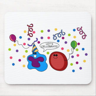 Let's Cellebrate Mouse Pads