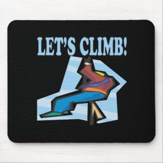 Lets Climb 2 Mouse Pad