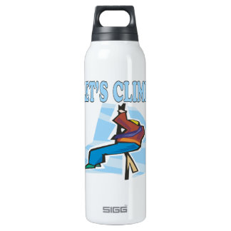 Lets Climb 2 16 Oz Insulated SIGG Thermos Water Bottle