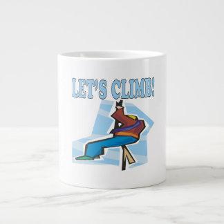 Lets Climb 2 20 Oz Large Ceramic Coffee Mug