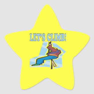 Lets Climb 2 Star Sticker