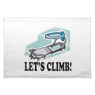 Lets Climb Placemats