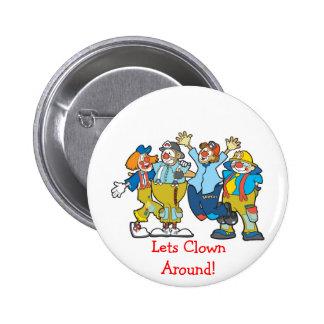 Lets Clown Around Button