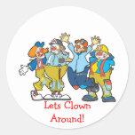 Lets Clown Around! Sticker