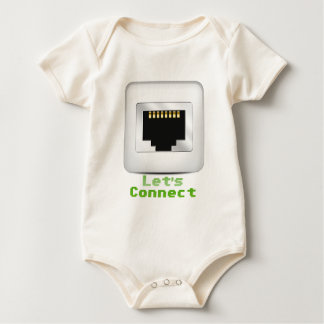Let's Connect Baby Bodysuit