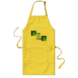 Let's Cook! Say My Name! Long Apron