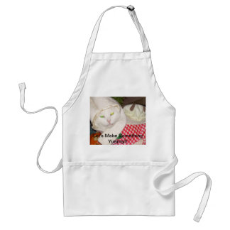 Let's Cook Something Yummy Adult Apron