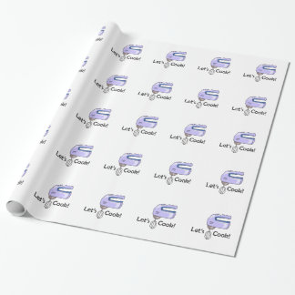 LETS COOK WRAPPING PAPER