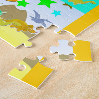 Let's Count With Dinosaurs Numbers 1 - 10 Counting Jigsaw Puzzle