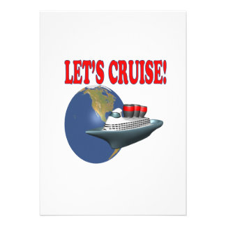 Lets Cruise 2 Personalized Announcements