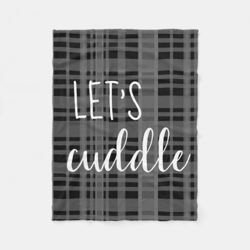 Let&#39&#x3B;s Cuddle Blanket