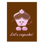 let's cupcake! post cards