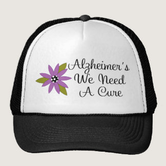 Let's Cure Alzheimer's Cap Trucker Hat