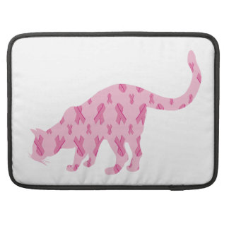 Lets Cure Cancer Cat Sleeve For MacBooks