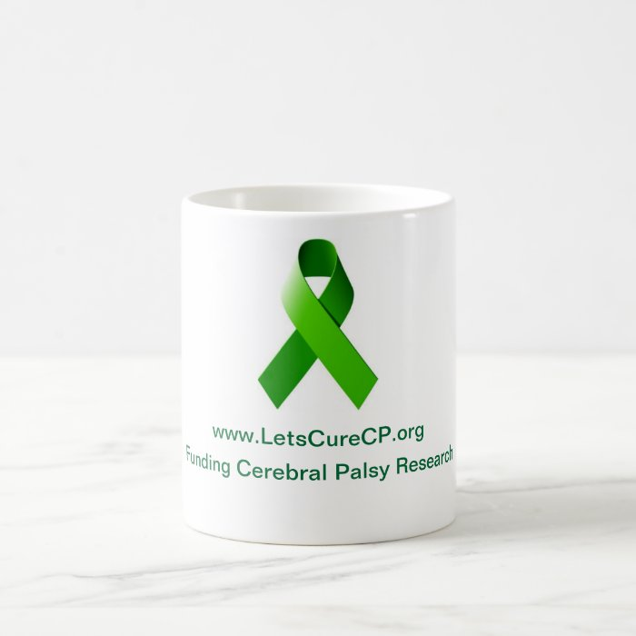 Let's Cure CP Mug