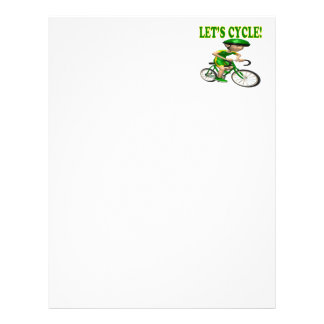 Lets Cycle 2 Personalized Letterhead