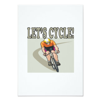 Lets Cycle Card
