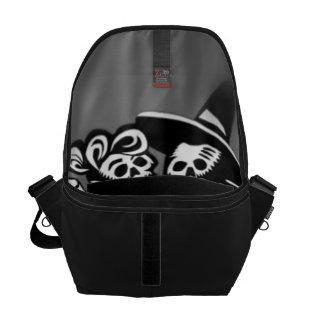 lets dance B&W Messenger Bag