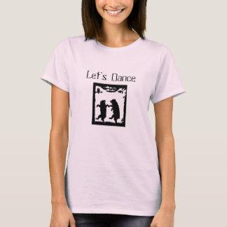 Let's Dance Bears Black Silhouette T-Shirt