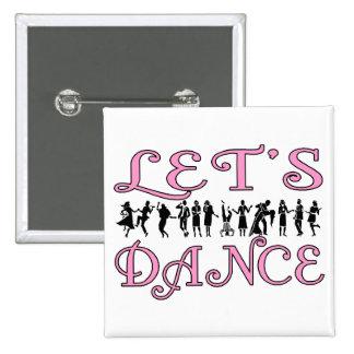 Let's Dance Pins