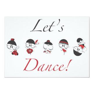 Let's Dance! Card